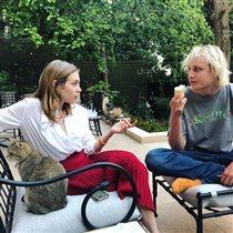 Наталья Водянова с лохматым сыном: 'Мороженое в Париже, как у нас в деревне'