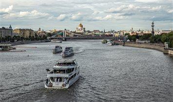 Водные маршруты  по Москве-реке