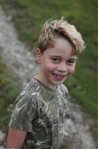 Принц Джорджу - 7 лет: 'Ну вылитый отец!'