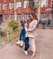 Единственный сын Анфисы Чеховой перескочил через второй класс