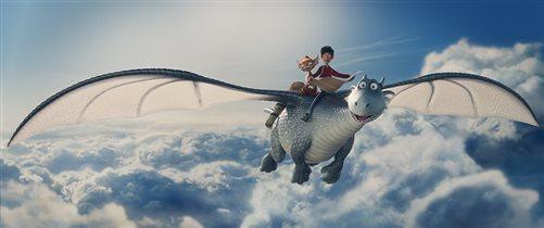 Анимационная приключенческая комедия 'Повелитель драконов' - скоро на экранах!
