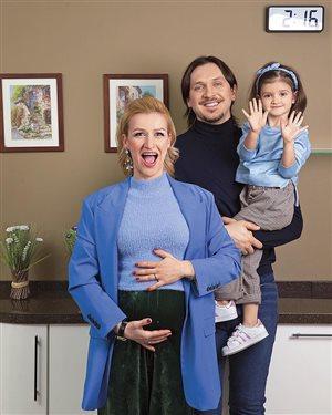 Татьяна Волосожар: вторая беременность. 'Как ты успела?'